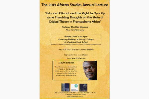 Home | African Studies Centre