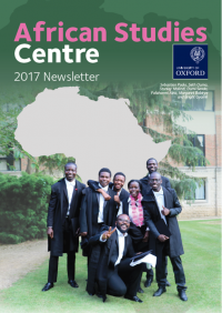african studies annual newsletter 2017 cover